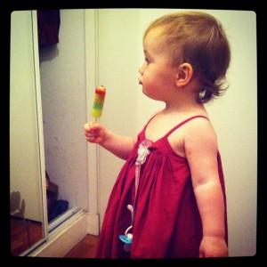 Little Miss Sunshine dévore les glaces au kilo