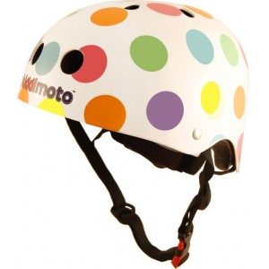 casque enfant pastel dotty de Kiddimoto