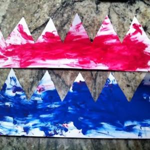 Peindre la couronne