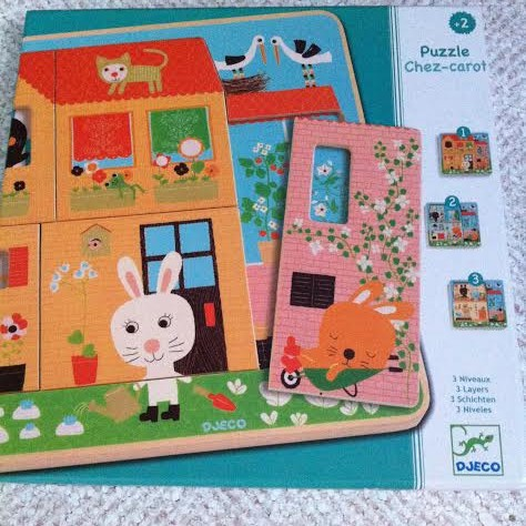 JouetPuzzle Retour Chez Famille La Djeco De Kangourou Carot Le 08Nwmvn
