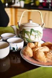 Schangala à l'heure du thé