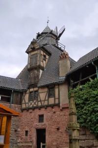 Le moulin du Haut Koenigsbourg