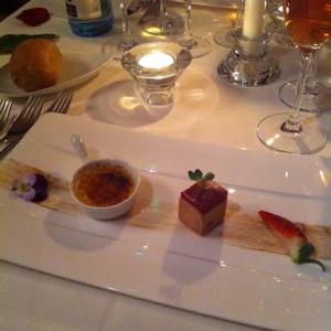 L'entrée foie gras