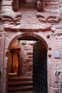 Une porte au Haut Koenigsbourg