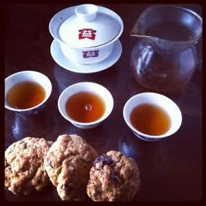 Cookies et Pu Erh