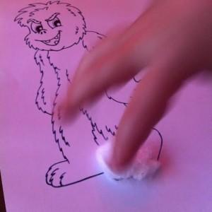 Yeti en coton