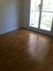 L'appartement tout vide