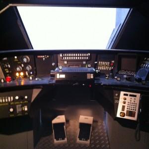 Cabine de TGV