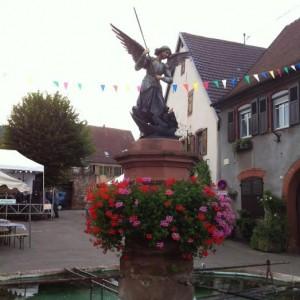Fête des vins à Pfaffenheim