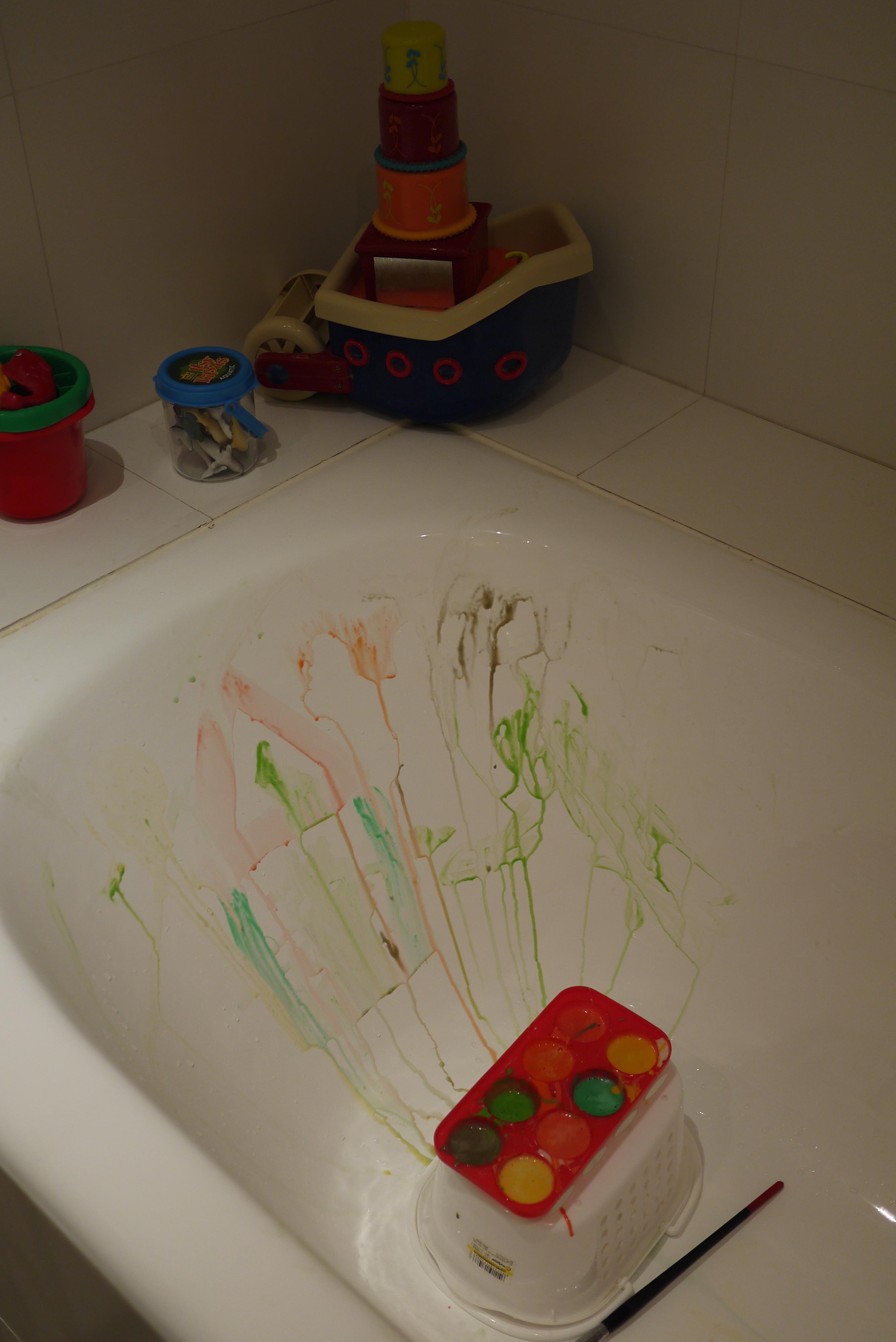 Activit peinture pour la baignoire ou la douche la for Peinture pour baignoire en email